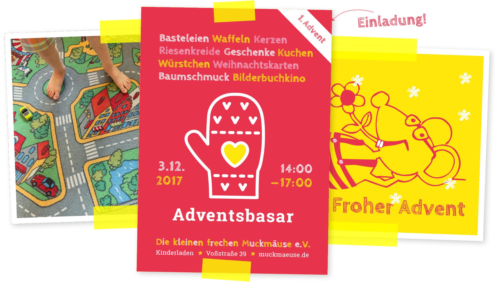 Adventsbasar 2017 Einladung